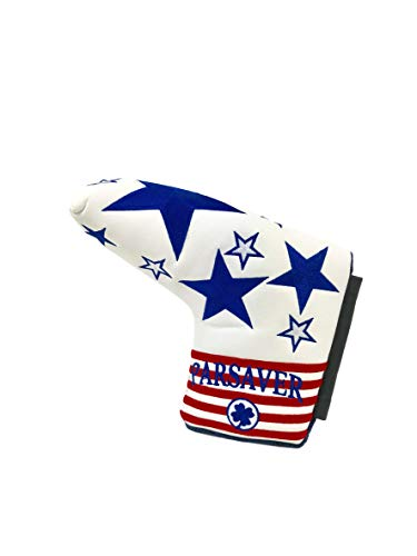 USA Golf Putter Cover Headcover - Replacement Blade Putter Covers - for Scotty Cameron, Odyssey, Taylormade, Titleist, Ping and Mizuno Putters (USA)