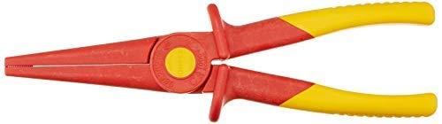 KNIPEX 98 62 02 Flachrundzange aus Kunststoff isolierend 220 mm