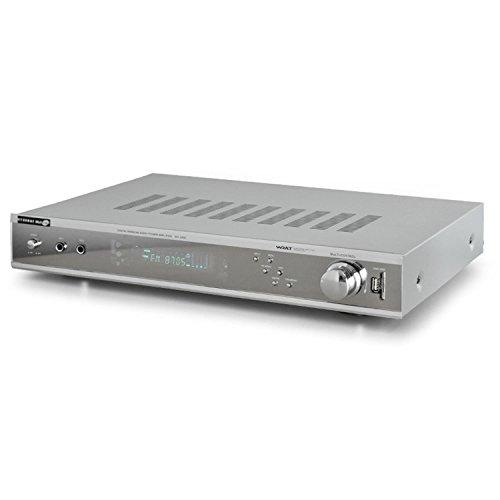 auna AV12400 5.1 Surround Receiver schwarz (MP3, Front-USB/SD, AC3, 2X Mic-In, 500 Watt max.)