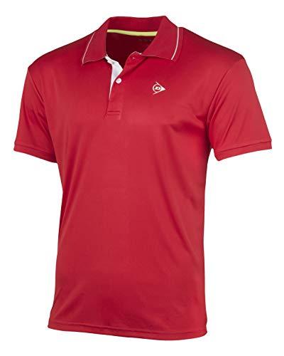 Dunlop 71339 Polo, Mens, Rojo, XXL