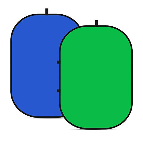 Neewer Fondo Plegable Reversible Chromakey Green Chromakey Blue 150 * 200CM...