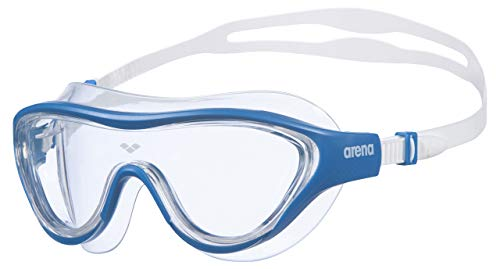 Arena The One Mask, Occhiali Unisex Adulto, Blu (Clear Blue White), Taglia Unica