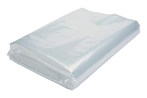100 Tüten LDPE, PE Beutel, 435 x 785 x 0,020 mm Flachbeutel, transparent, 1-A Ware, lebensmittelecht
