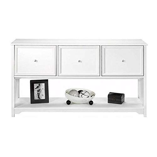 Home Decorators Collection Oxford White 56 in. Lateral File Cabinet