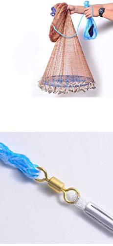Las redes de pesca echaron las redes de las redes de pesca...