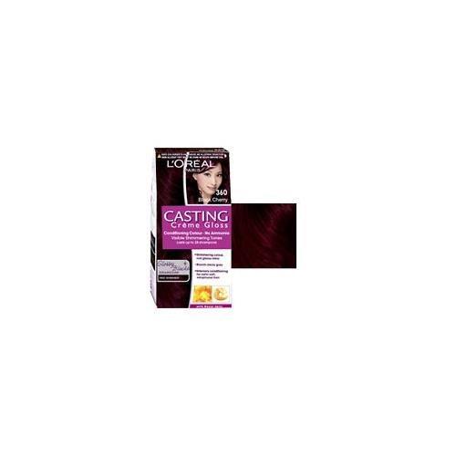 Coloration pour cheveux l'Oréal - Casting Crème Gloss - Couleur : cerise noire 360