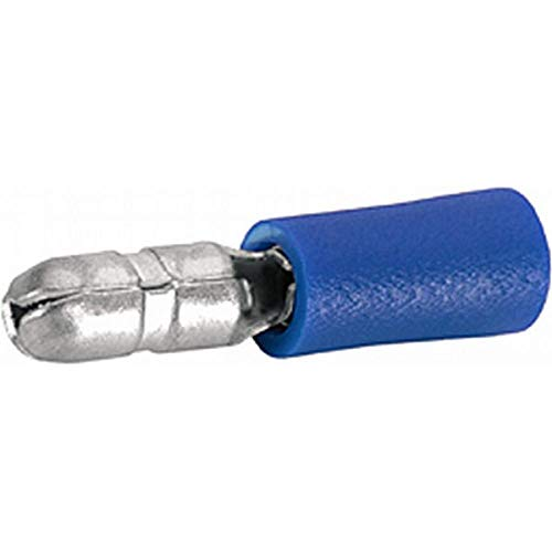 HELLA 8KW 044 025-812 Leitungsverbinder, Rundstecker, 1,5-2,5 mm², Ø 5 mm, blau, Set