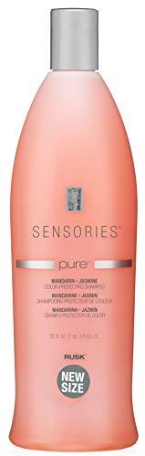 RUSK Sensories Pure Mandarin and Jasmine Vibrant Color Shampoo, 33.8 fl. oz.