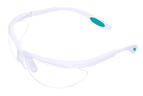 Python Xtreme View Protective Racquetball Eyeguard (Eyewear) - White