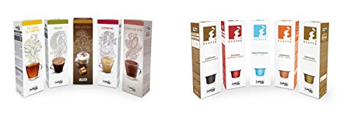 Kit 100 Capsule Caffè e Bevande Caffitaly - capsule originali Caffitaly System