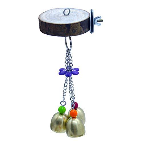 Baoblaze Soporte para Juegos de Pájaros, Soporte para Loros, Soporte para Pájaros, Juguetes para Colgar, Suministros para Pájaros