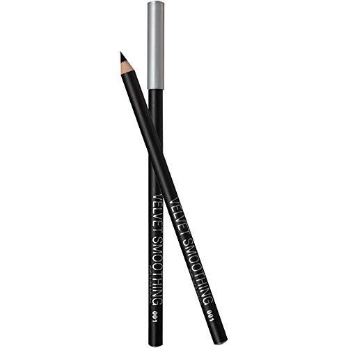 Nourich Kit 12 PC Noir Liquid Eyeliner Eye Liner Pencil Pen à Pointe Facile à Colorer et de Haute Précision Eyeliner noir longue tenue imperméable à l'eau Eye-Liner Pencil Durable Eye Liner (01#)