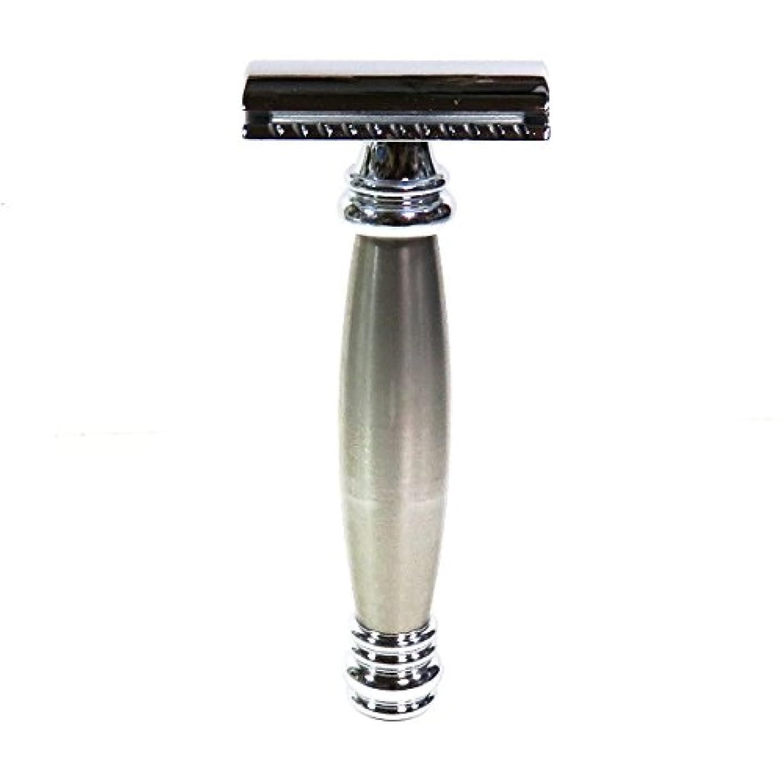 ハウジング上昇宿るメルクールMERKUR(独)髭剃り(ひげそり)両刃ホルダー43002 流線型重厚グリップ