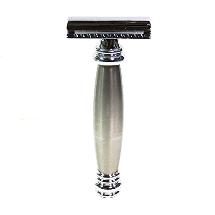 胃配偶者ハウスメルクールMERKUR(独)髭剃り(ひげそり)両刃ホルダー43002 流線型重厚グリップ