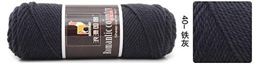 Xinger 5 stks kleurrijke dikke garen voor breien breiwol wol voor hand breien draad alpaca wol garen, 40