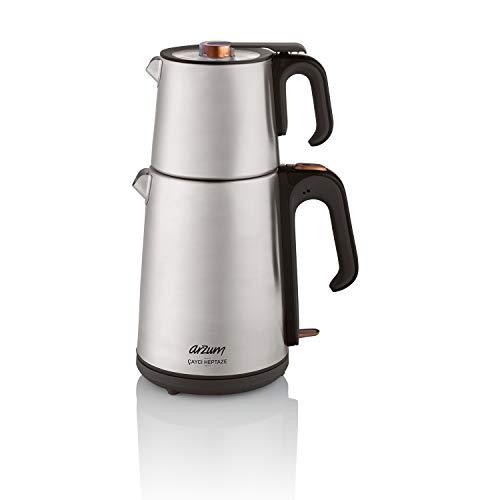 Arzum AR3023 Tea Maker, Stainless Steel, 1650 W, 1.8 liters, INOX