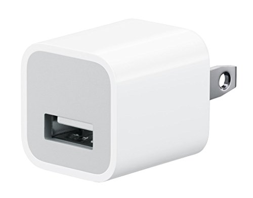 Apple 5W USB Power Adapter MD810LL/A - Original/OEM - (Non-Retail Packaging)