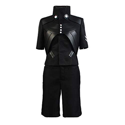 Ya-cos Ken Kaneki Cosplay Costume Outfit Jacket Pants Battle Suit Halloween Uniform Unisex (Medium, As Shown)