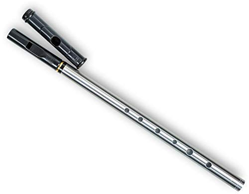 Tony Dixon DX206D - Flauta doble (boquilla de tin whistle y flautín)