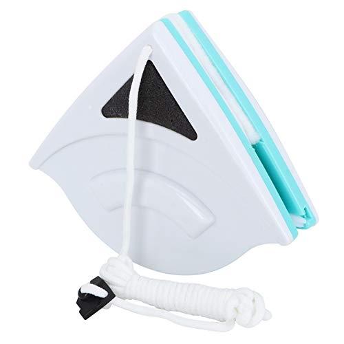 Herramienta de limpieza de vidrio, limpiador de limpiacristales de doble cara Limpiador de ventanas magnético Limpiador de ventanas para limpiar ventanas de entre 0,2 pulgadas y 0,5 pulgadas/5 - 12 mm