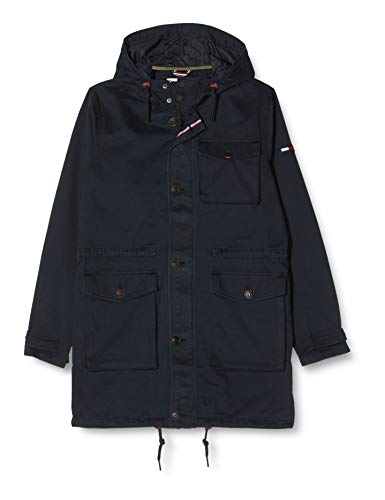 Tommy Jeans Mannen Washed lang - Regular Parka Jacket