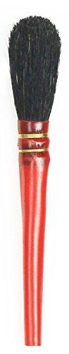 da Vinci Gilding Series 750 Double Quill Gilder Mop, Oval Black Goat Hair, Size 2 (750-2)