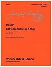 Piano Sonata in C minor: Hob. XVI:20 (Wiener Urtext Edition) (German, French and English Edition)
