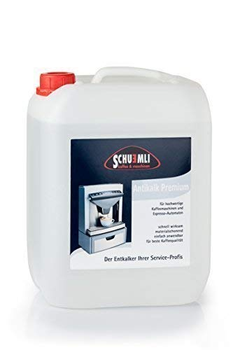 SCHUEMLI Antikalk Premium Entkalker   Spezial- Kalklöser für Kaffeevollautomaten & Espresso-Maschinen   1 x 10 Liter Flüssigkeit