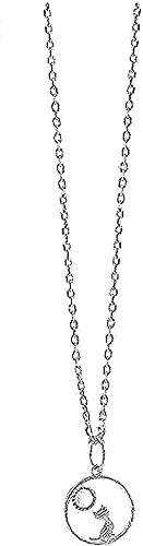 Yiffshunl Collar Moda Luna Gato Collar Simple Moda Collar Linda Chica Fresca Moda
