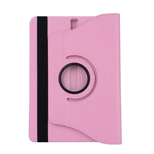 GHC PAD Cases & Covers For Samsung Galaxy Tab S3 9.7 SM-T820 T825, New Case 360 Rotation Smart Stand PU Case for Samsung T820 T825 9.7'' 360 (Color : Pink)
