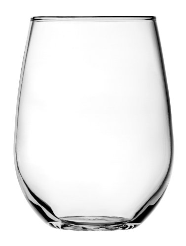 anchor hocking unbreakable wine glasses Anchor Hocking Vienna Stemless White Wine Glasses, 15 oz (Set of 4)