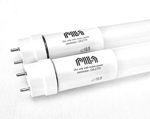 2FT LED (2 Pack) T8 T12 Retrofit Ballast Bypass Tube Lamp, Single Ended 5000K Daylight 800 Lumen Lamp Fluorescent Tube Light Bulb Replacement for Non shunted lamp Holders, Replaces F20T12 F17T8 18t18