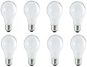 GE Lighting 13257 40-Watt A19, Soft White, 8-Pack