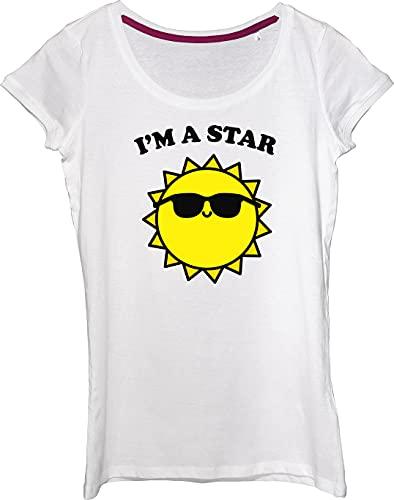 Camiseta para mujer I'm A Star Cool Sun con gafas de sol.