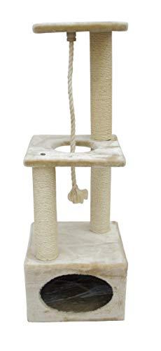 Kerbl Kratzbaum PLATIN PRO Höhe: 109 cm, beige
