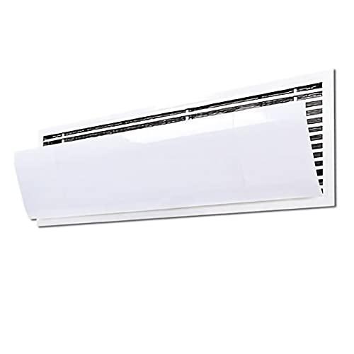 PTY Deflettore del Condizionatore Impedisci a Direct Blow Baffle Parabrezza Regolabile Reusable Heat Deflector e Air Deflector per Prese d'Aria, Fianco Fianco, registri Domestici AC e controsoffitti