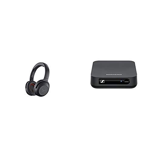 Beyerdynamic Lagoon ANC Traveller Bluetooth-Kopfhörer mit aktiver Geräuschunterdrückung (ANC) & Sennheiser BT T100 Bluetooth-Audio-Transmitter für Hi-Fi oder Home Entertainment Schwarz