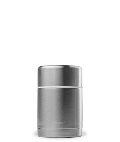Qwetch - Lunchbox Isotherme en Inox Brossé - 500ml
