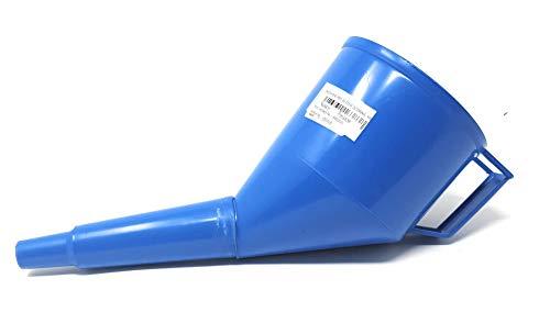 Embudo con filtro aceite Embudo Embudo de aceite plástico Combustible Gasolina Diesel Agua brennstoffen