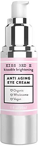 Anti Aging Eye Cream for Dark Circles, Eye Bags, Fine Lines, Puffiness. Best Anti Aging Eye Cream Moisturizer for Wrinkles, Crows feet, Puffy Eyes