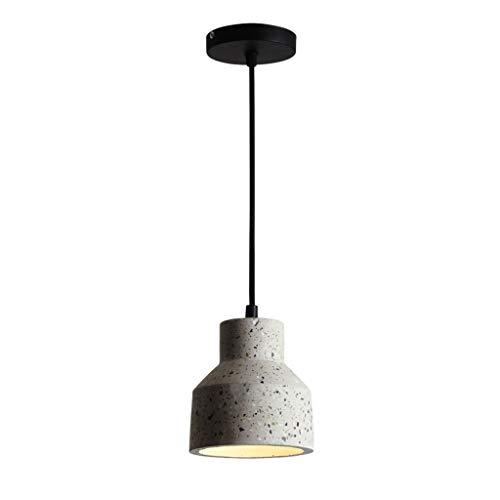 Kroonluchter Nordic industrie stijl cement molen kunst kroonluchter eenvoudige restaurant theke winkel gang aisle-decoratie-lamp [energieklasse A +]