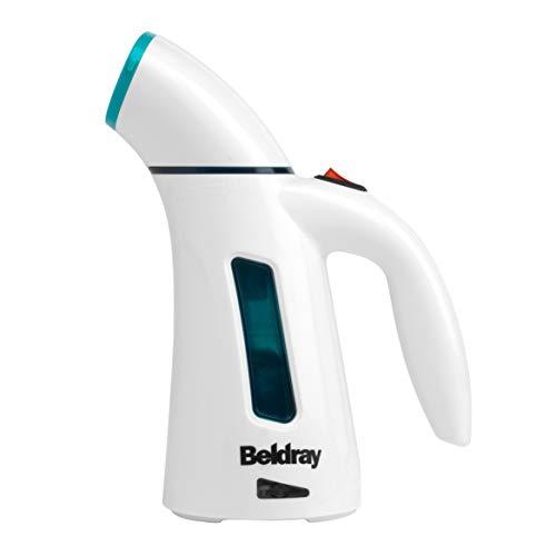 Beldray BEL0725TQ-VDE handstoomapparaat voor kleding met eurostekker, 600 W, turquoise