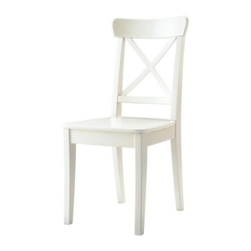 IKEA INGOLF–silla, color blanco