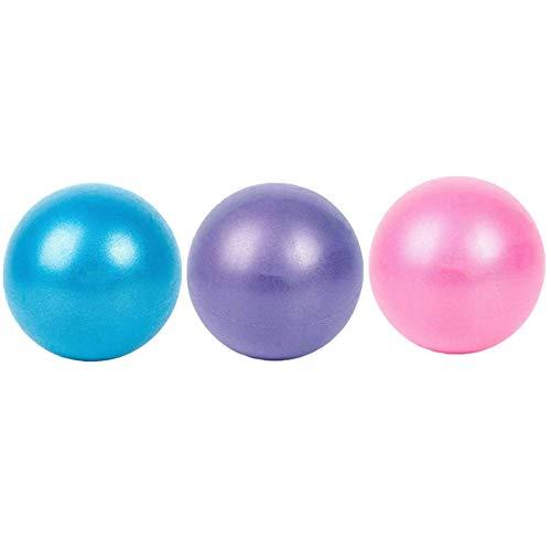 Xinlie Pilates Gimnasia Yoga Gym Soft Over Ball Fitball Pilates Pelota Embarazo Pelota de Ejercicios de Pelota de Mini Pilates de Yoga para Ejercicios Abdominales y Ejercicios Básicos (3 Piezas)