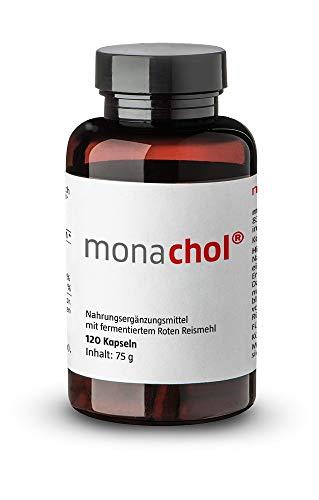 MONACHOL rotes Reismehl 500 mg Kapseln 120 St Kapseln