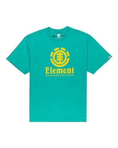 Element Vertical Camiseta de Manga Corta para Hombre, Atlantis, L