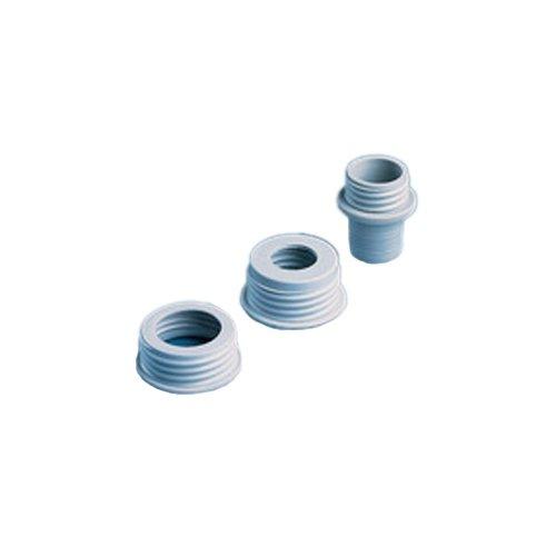 Brand 704330 Gewindeadapter, PP, Außen-Gewinde GL 32 für Flaschen/GL 30 Dispensette, Titrette, seripettor, QuikSip