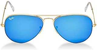 Ray-Ban RB3025,177,58 Aviator Sunglasses For Unisex-Gold