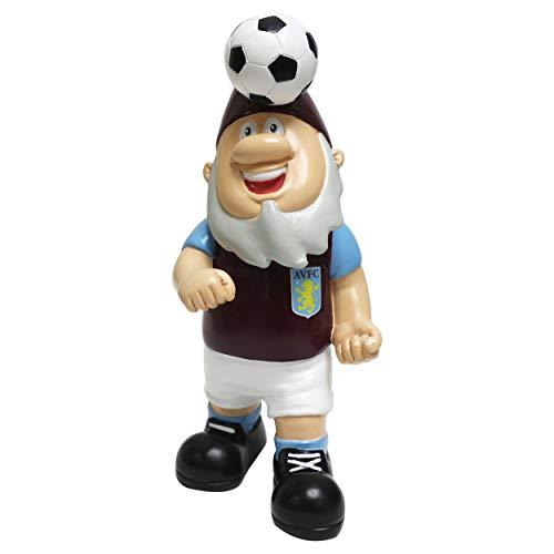 Forever Collectibles UK ASTON VILLA FC FOOTBALL HEADER BALL GARDEN GNOME ORNAMENT INDOOR/OUTDOOR