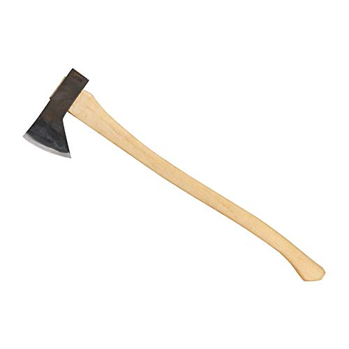 Council Tool Hudson Bay Camp Axe; 28″ Curved Wooden Handle Sport Utility Finish